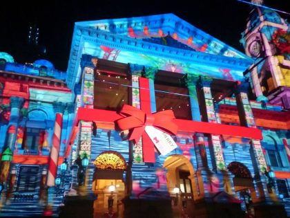 El Maravilloso Mundo del Video Mapping
