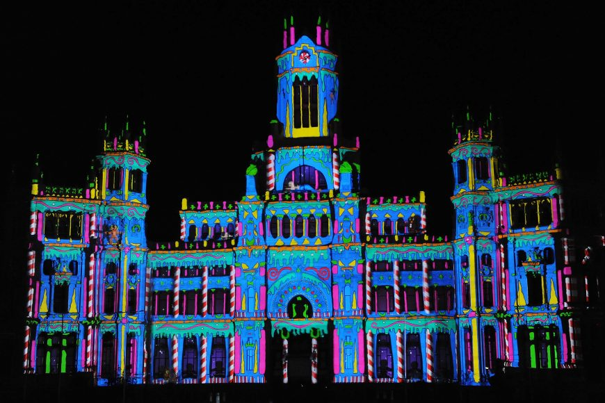 La Magia del Video Mapping