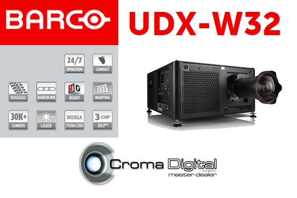 El Proyector Barco UDX-W32