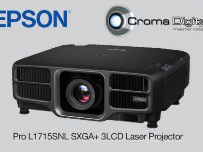 Llegó el Proyector Láser Epson Pro L1715SNL SXGA 3LCD