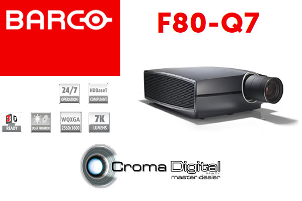 ¿Ya conoces el proyector F80-Q7 de Barco?