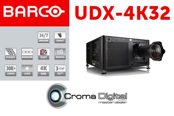 Te Mostramos El Barco UDX-4K32