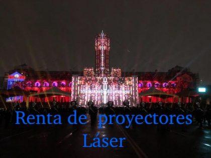 Renta de Proyectores Láser